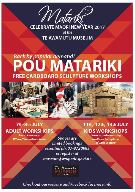 POU MATARIKI School Holiday Programme