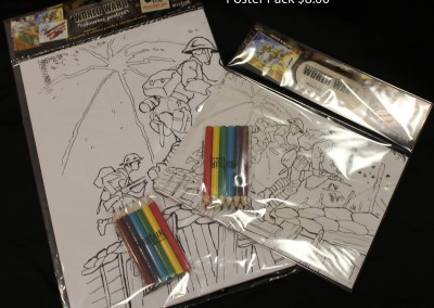 colouring packs