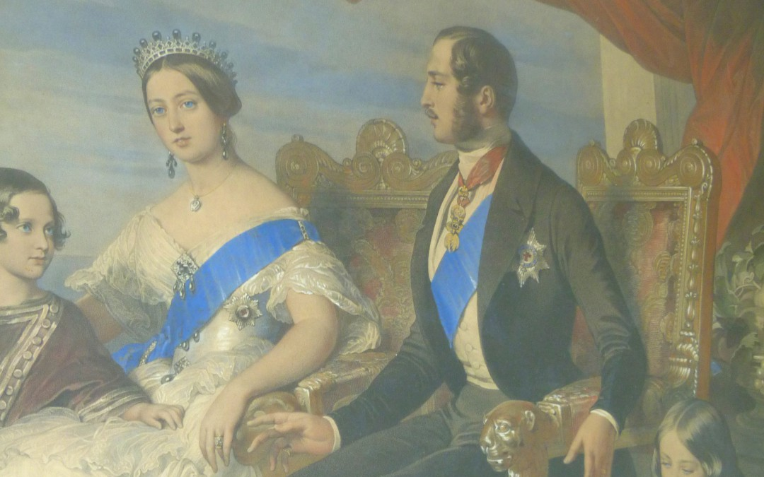 The Queen Victoria Lithograph
