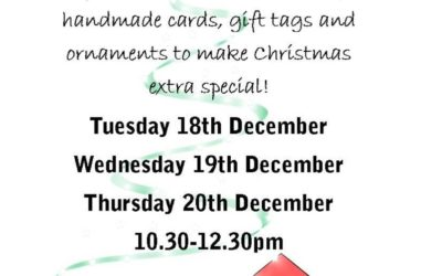 Christmas Craft Workshops – COMING SOON!