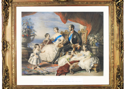 Queen Victoria Lithograph