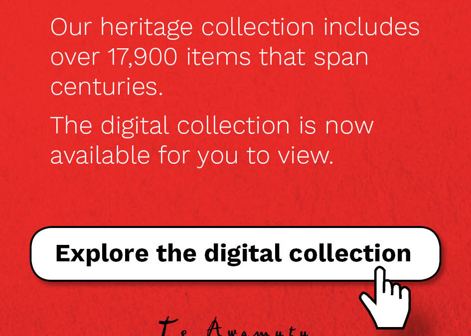 Artefacts head into the digital age