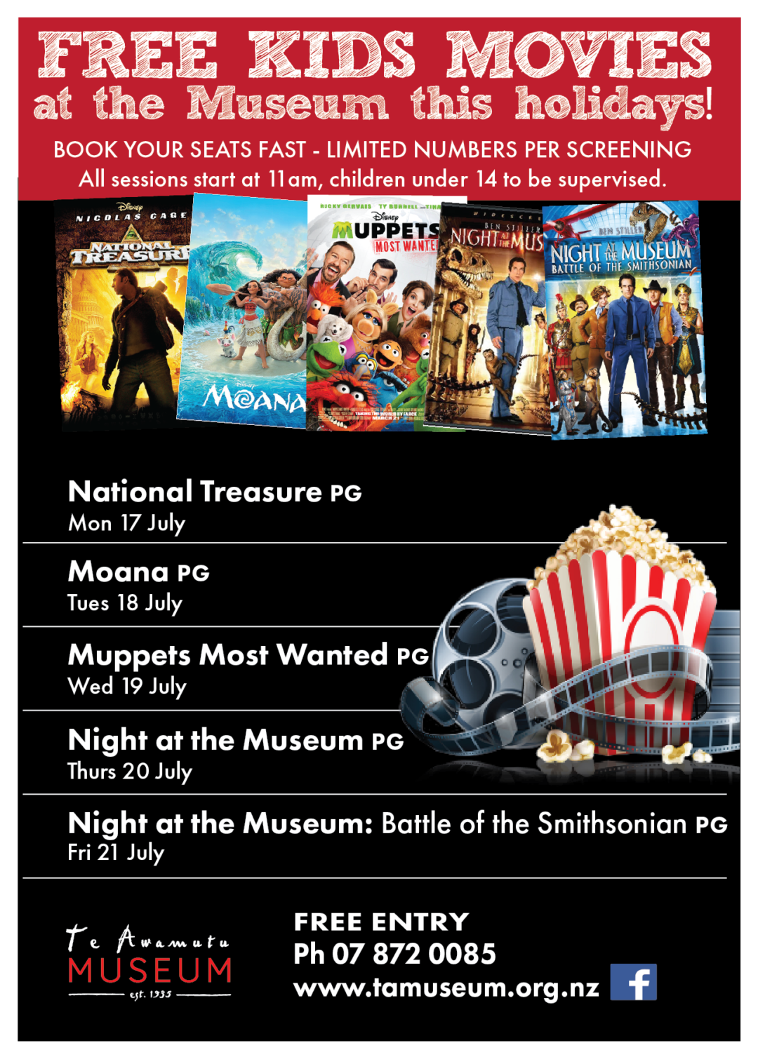 Movies at the Museum!