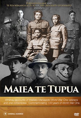 Maiea Te Tupua DVD Cover
