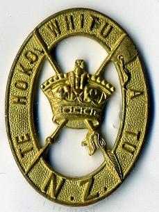 Badge of Te Hokowhitu a Tu