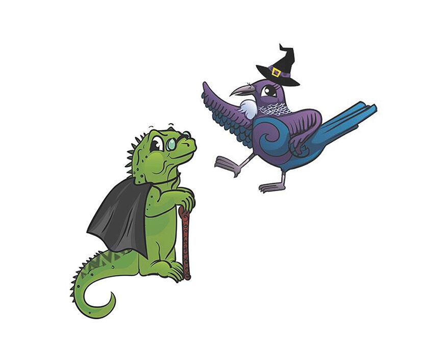 Tui & Tama's Spooktacular Halloween Party!
