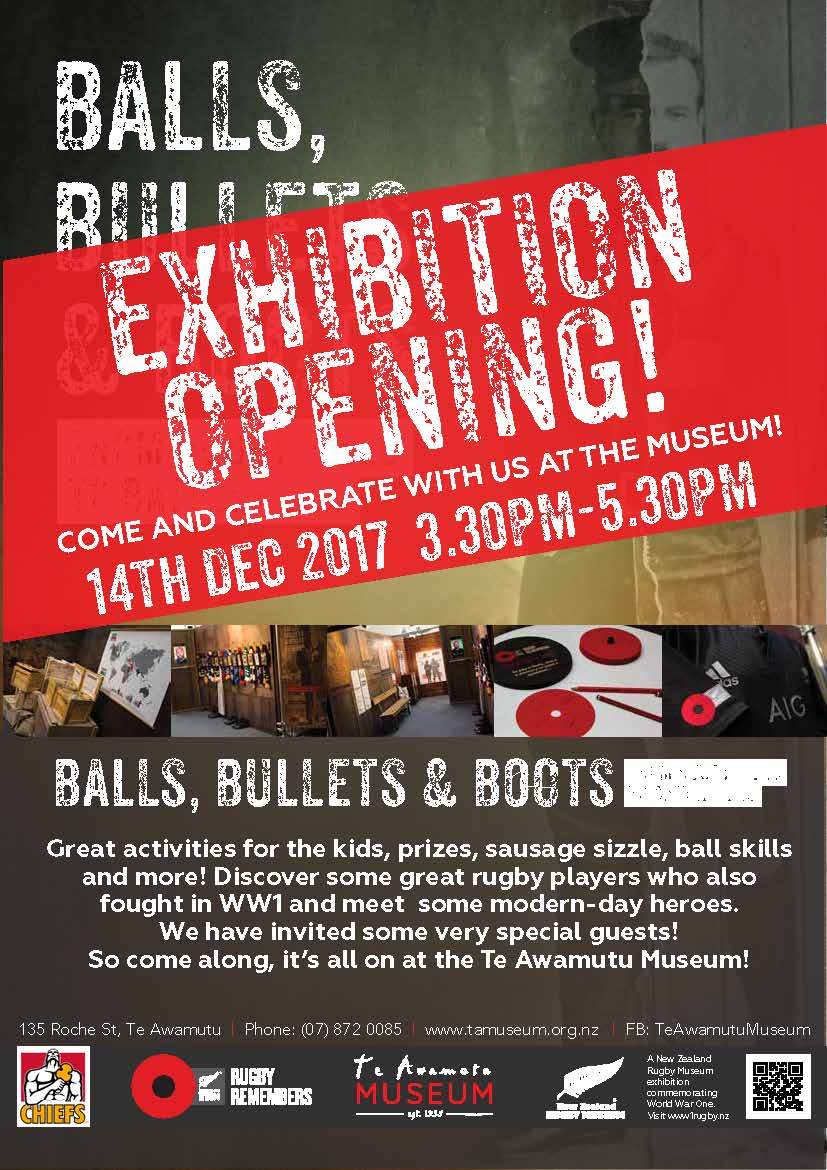 Balls Bullets & Boots Exhibition Opening!