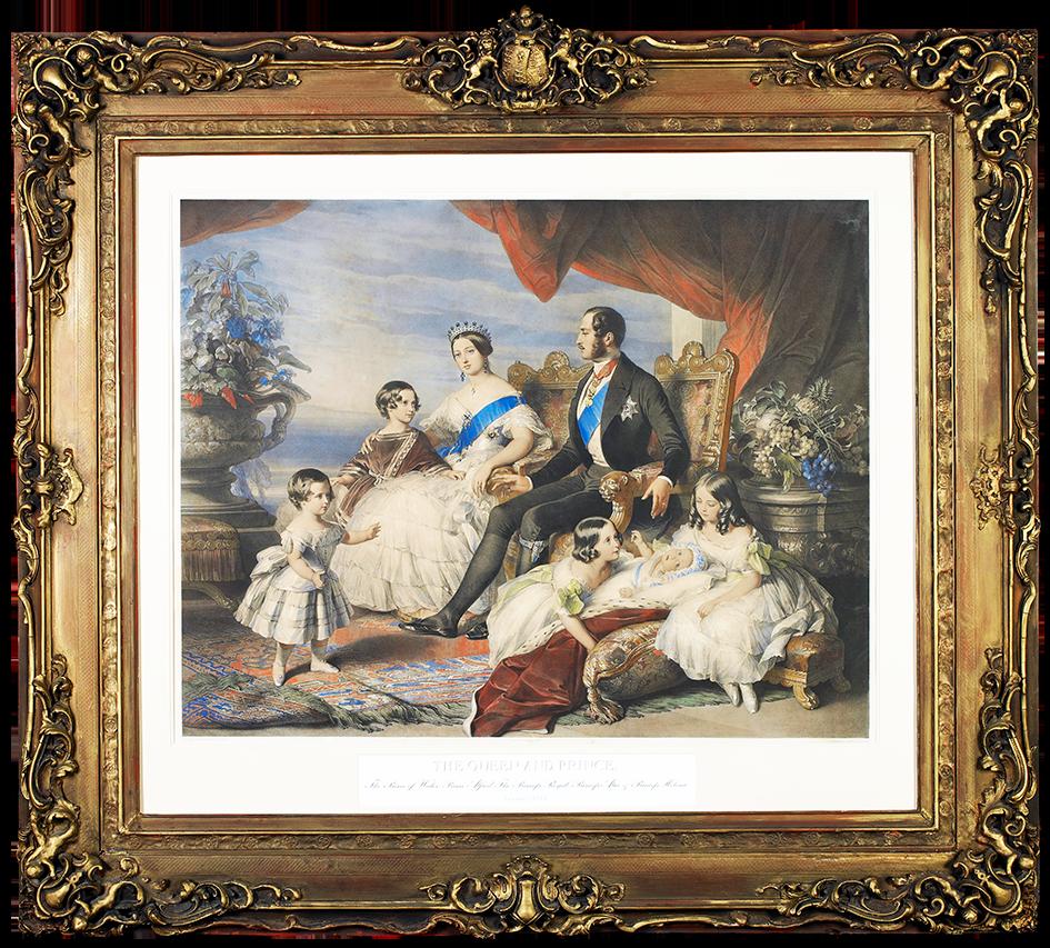 Queen Victoria Lithograph