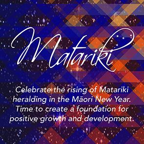 Matariki Star Constellation